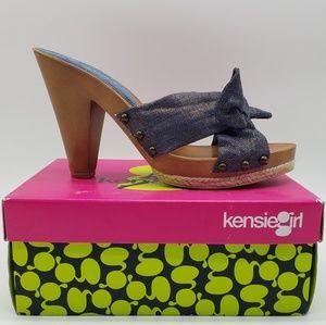 Kensie Girl KG - Jett Denim Sparkle Linen 10M